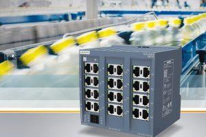 Mit_der_Produktlinie_Scalance_XB-100_bringt_Siemens_eine_neue_Generation_kompakter_unmanaged_Industrial_Ethernet_Switches_auf_den_Markt._Anwender_können_damit_elektrische_und_optische_Linien-_und_Sternstrukturen_in_Netzwerken_aufbauen._Die_Switches_sind_i
