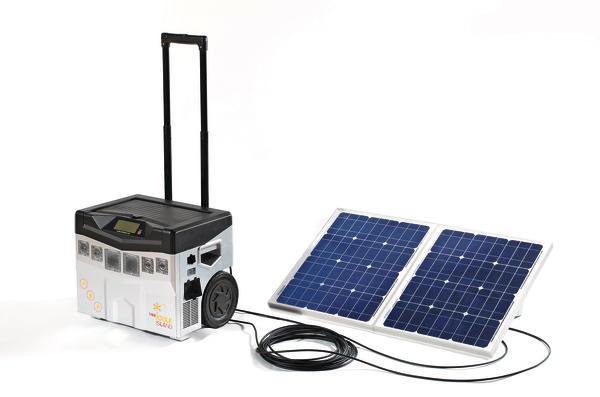 Mini Kühlschrank Mit Solar : Solarenergie aus dem rollkoffer mini kraftwerk to go