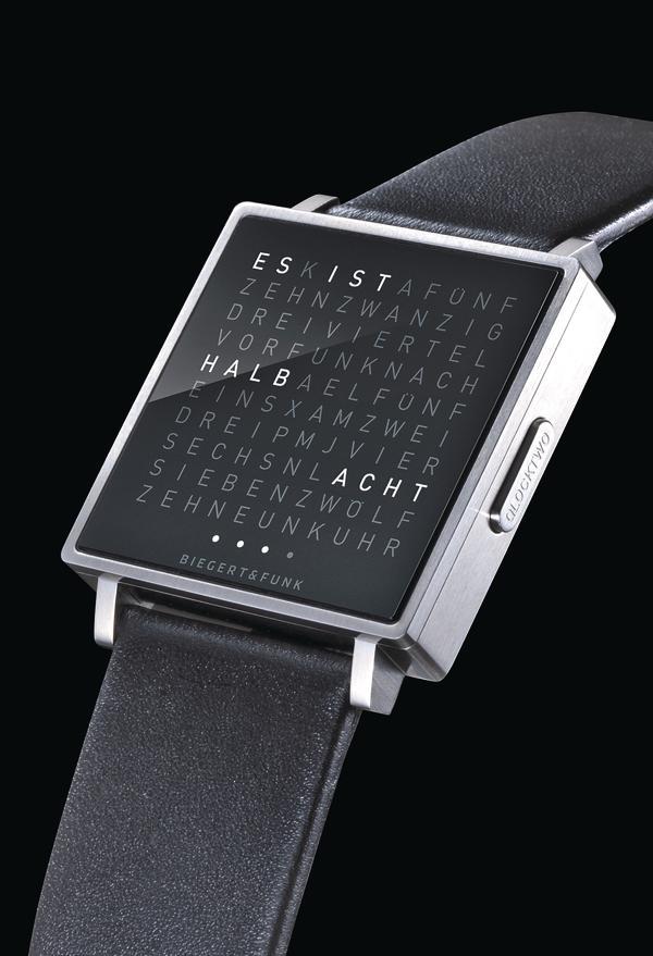 Armbanduhr Wort Zeit Statt Zeiger