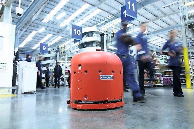 Reinigungsroboter Integrierte Sensoren Garantieren