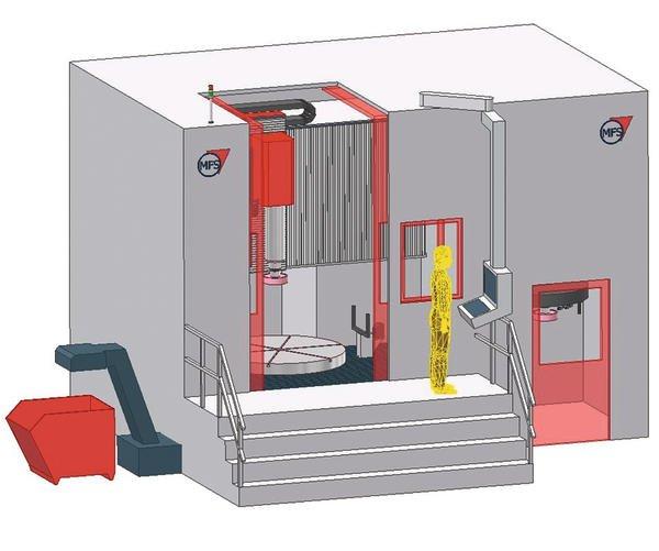 Vertikal-Bearbeitungszentrum Schleifen, Bohren, Drehen Und