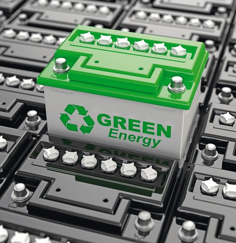 Car_battery_recycling._Green_energy._Background_from_accumulators._3d