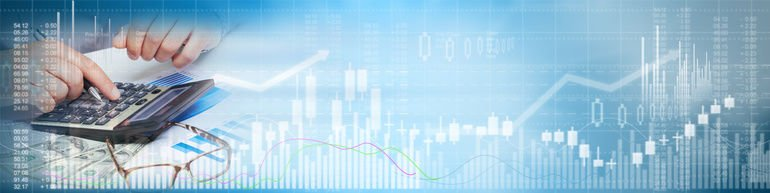 Stock_market_trading_man_with_calculator_on_blue_chart_background