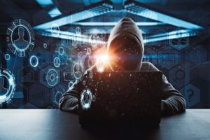 no_face_hacker_working_on_laptop_with_technology_digital_cyberspace_interface_around_at_abstract_background_