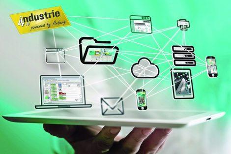 Vernetzung,_ALS,_Industrie_4.0,_Wolken,_Cloud,_Medien,_Hand,_ipad,_iphone