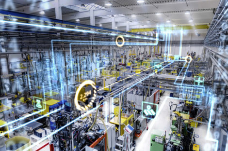 Horizontal_color_image_of_modern_plastic_factory_with_industrial_machinery.