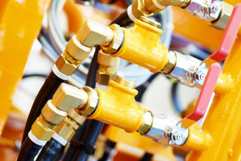 Hydraulic_pressure_pipes_and_connection_fittings_of_construction_machinery_or_industrial_equipment_system