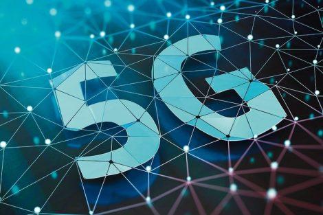 5G_symbol_on_dark_digital_background._3D_illustration.