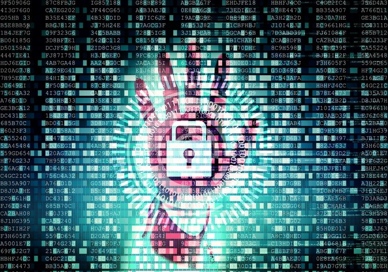 Conceptual_image_of_Data_Security_and_protection_System_on_internet