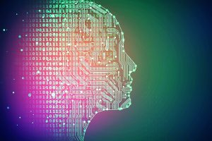Artificial_intelligence._Human_head_outline_with_circuit_board_inside._Technology_and_network_concept._3D_Rendering_