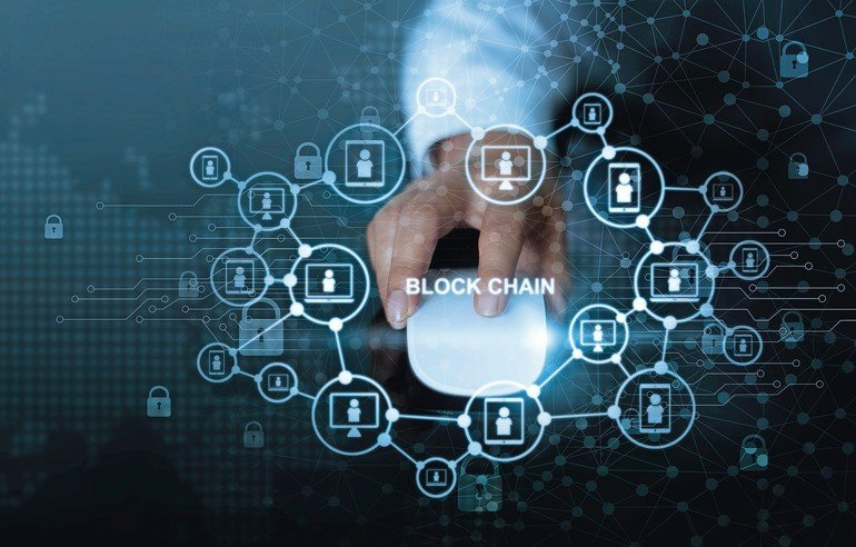 Blockchain_technology_network_concept._Businessman_click_mouse_computer_with_microcircuit_icon_cryptocurrency_and_block_chain_network_connection_on_global_virtual_screen
