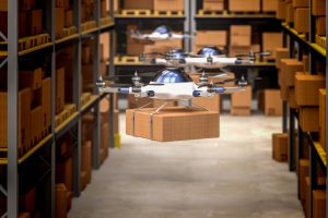 drone_in_classic_warehouse_3d_rendering_image