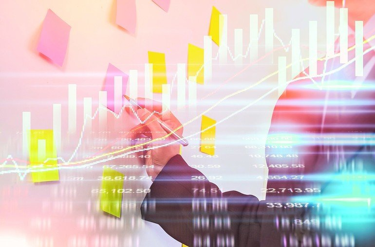 Double_exposure_business_man_on_stock_financial_exchange._Stock_market_financial__indices_on_LED._Economy_return_earning._Stock_market_financial_overview_in_market_economy._Economy_analysis_background