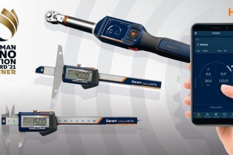 Hoffmann_Group_Connected_Tools_verbindet_bluetooth-fähige_Garant-HCT-Werkzeuge_mit_einer_Smartphone-App