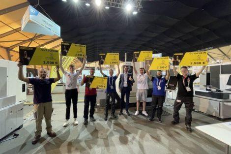 EuroSkills_2021:_Die_Teilnehmer_beim_CNC-Fräsen_kamen_aus_Deutschland,_Frankreich,_Lichtenstein,_Österreich,_Polen,_Portugal_und_Russland