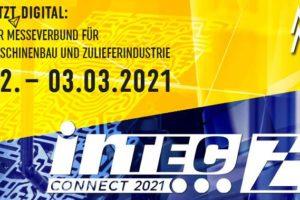 Der Messeverbund Intec/Z connect findet im Jahr 2021 rein digital statt.