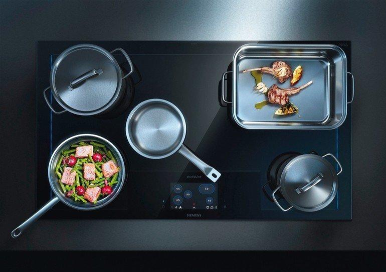 induktionskochfeld auf voller fl che kochen wie ein profi. Black Bedroom Furniture Sets. Home Design Ideas