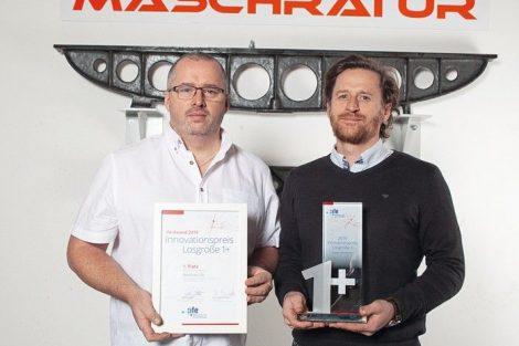 """Innovationspreis für """"Losgröße 1+"""" vergeben"""